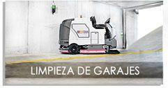 limpieza fregado del Garaje en Zaragoza